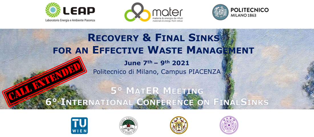 CALL EXTENDED – Convegno MatER 2021